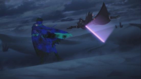 Kirito against Death Gun