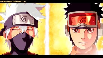 Naruto 691 Kakashi and Obito by Uchiha-itasuke