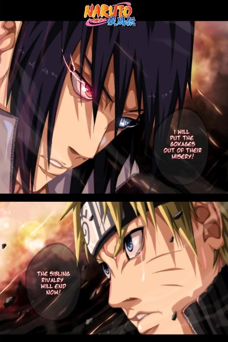Naruto 692 Sasuke vs Naruto by espadazero