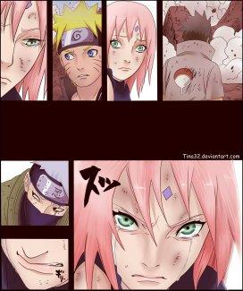 Naruto 693 Sakura cry's by Tina32