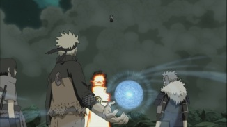 Naruto against Obito