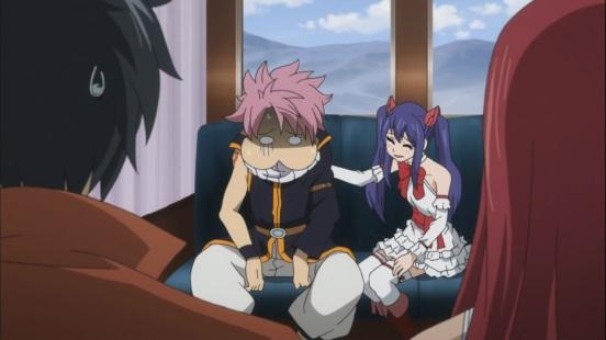 Natsu's motion sickness