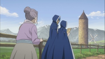 Old Ultear meets Jellal and Meredy