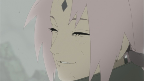 Sakura's Fake Smile