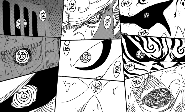 Sasuke uses Genjutsu on all Tailed Beasts