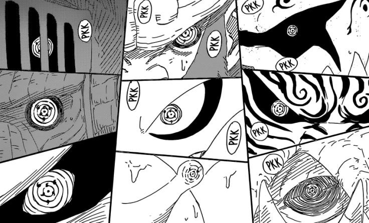 Sasuke uses Genjutsu on all Tailed Beasts