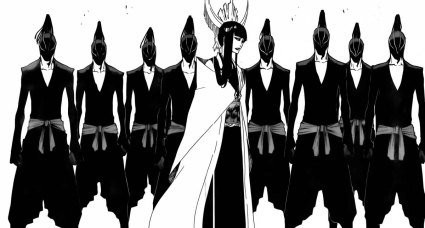 Senjumaru and her soldiers