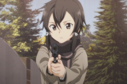 Death Gun Evades! Sinon's Past – Sword Art Online II 14 (Thoughts)