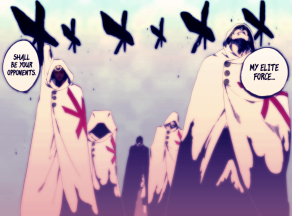 Bleach 599 Quincy Elite Four by sato-manga