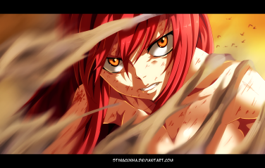 Fairy Tail 403 Erza by Stingcunha