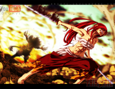 Fairy Tail 404 Erza the Beast by deohvi