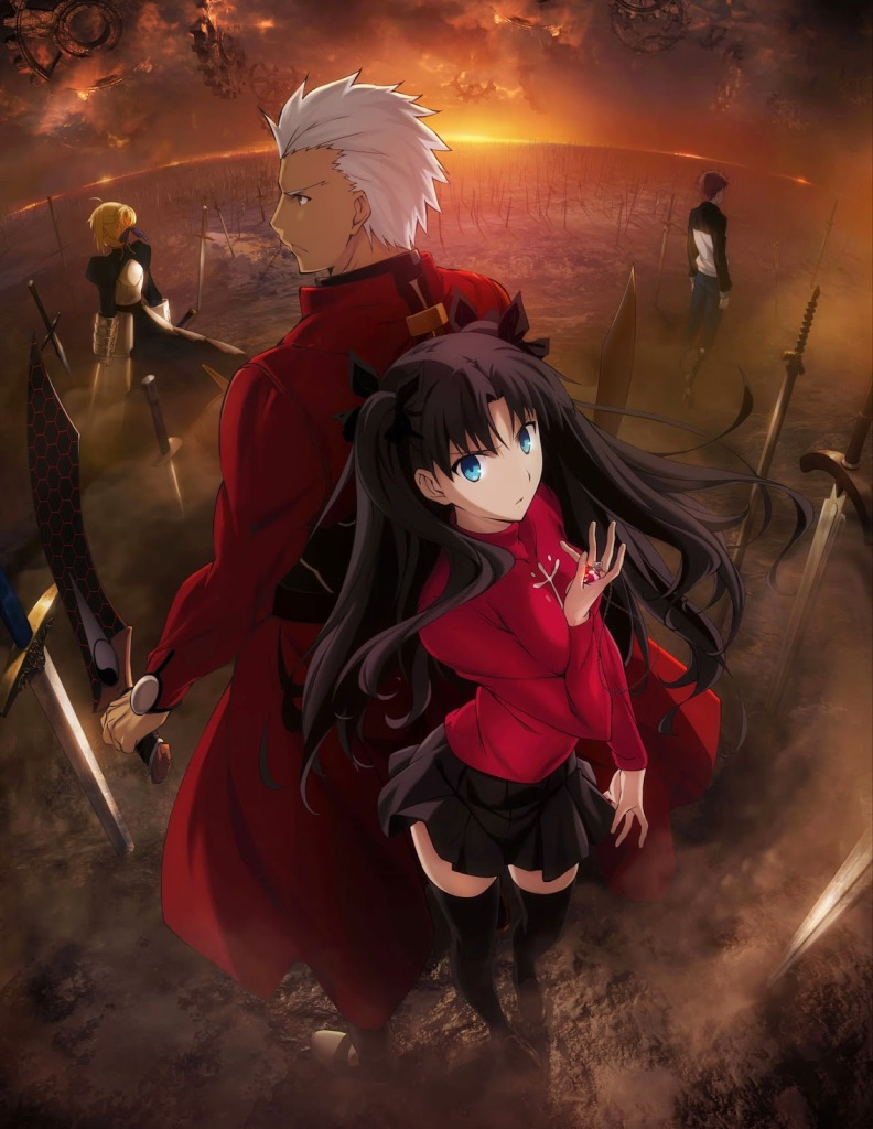 Fate Stay Night Unlimited Blade Works Review Daily Anime Art