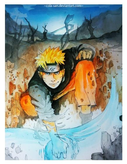 Groundbreaking Rasengan – NarutoUzumaki