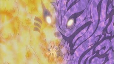 Kurama Susanoo Hybrid Naruto and Sasuke