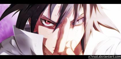 Naruto 696 Sasuke Hatred by x7rust