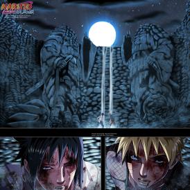 Naruto 697 Naruto vs Sasuke by hikarinogiri