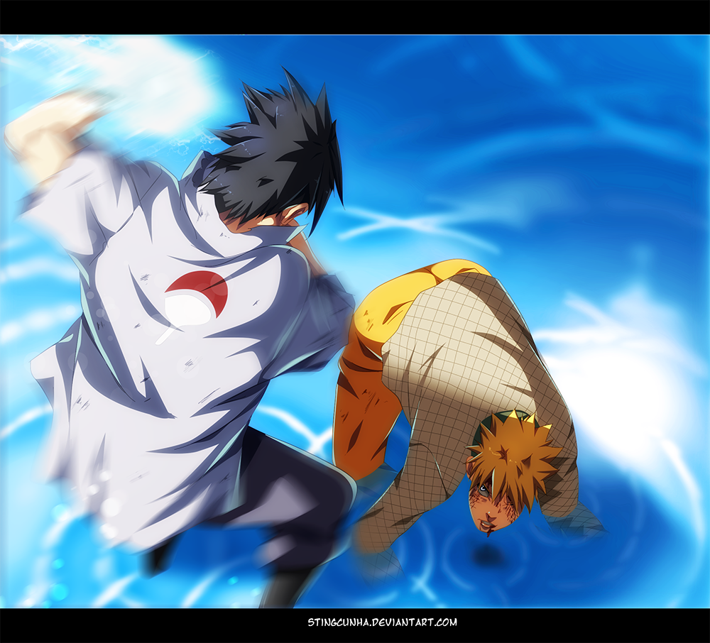 Naruto 697 naruto vs sasuke by stingcunha daily anime art - Naruto as sasuke ...