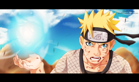 Naruto 697 Naruto's Rasengan by khalilxpirates