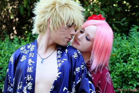 Naruto and Sakura Cosplay by Paz-Cosplay