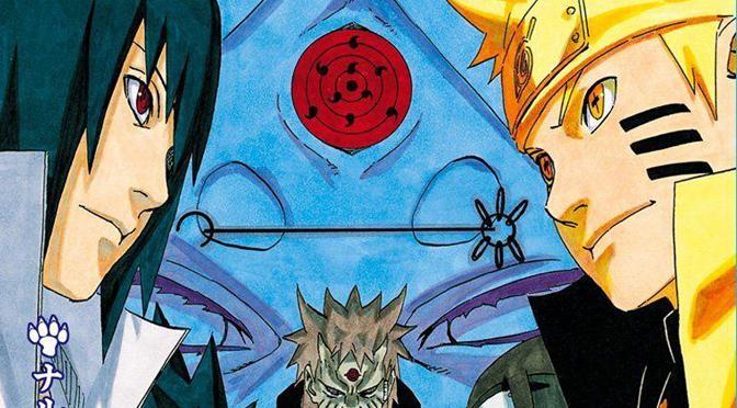 Naruto Manga Volume Poster