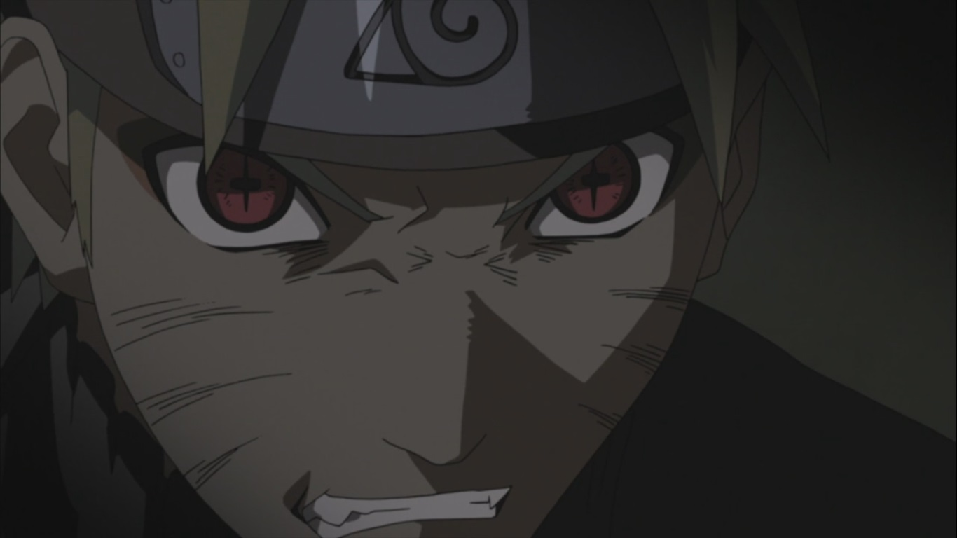 naruto sage and kurama chakra daily anime art