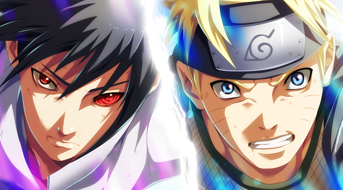 naruto vs sasuke by stingcunha daily anime art