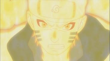 Naruto's Kurama Sage Mode