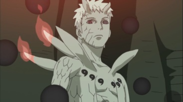 Obito looks down