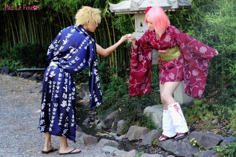 Sakura and Naruto Cosplay Gentleman by Paz-Cosplay