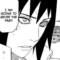 Sasuke to sever the past