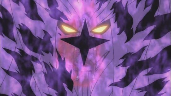 Sasuke's cursed mark sage jutsu susanoo