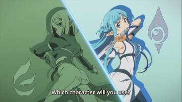 Asuna's two accounts