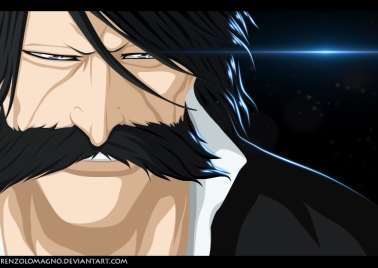 Bleach 605 Yhwach's Face by renzolomagno