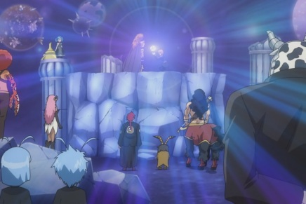 Celestial Globe! Performing Liberum – Fairy Tail 206