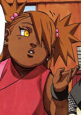 Chocho Akimichi Choji And Karui Daughter Daily Anime Art