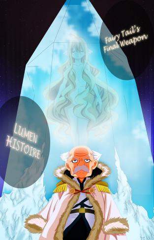 Fairy Tail 406 Lumen Histoire Mavis by cardel-grd