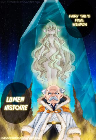 Fairy Tail 406 Lumen Histoire Mavis Vermillion by IchigoVizard96