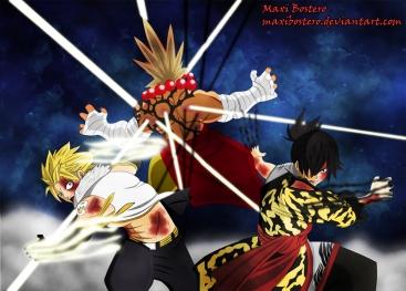 Fairy Tail 409 Jiemma Sting Rogue by maxibostero