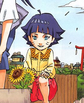 Himawari Uzumaki Naruto and Hinata's Daughter