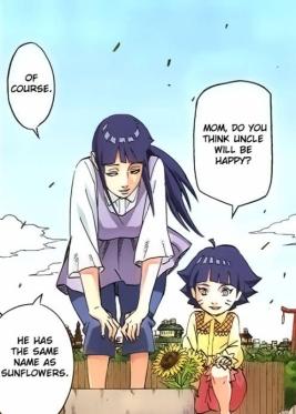 Hinata and Naruto's girl