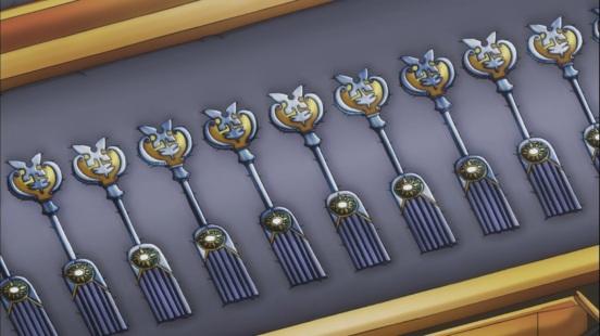Hisui made Celestial Spirit Keys