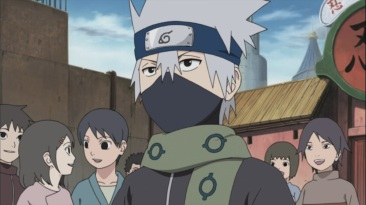 Kakashi gets headband