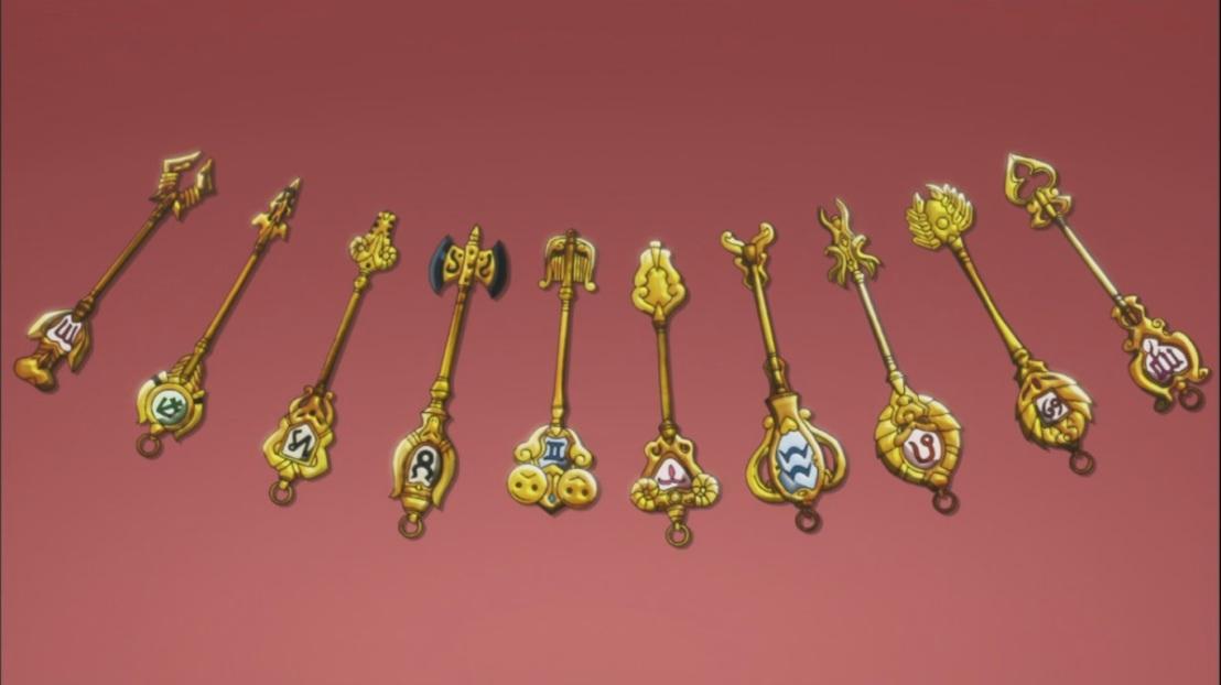 Lucy's Celestial Spirit Keys