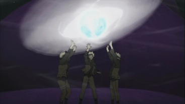 Naruto's Massive Rasen Shuriken