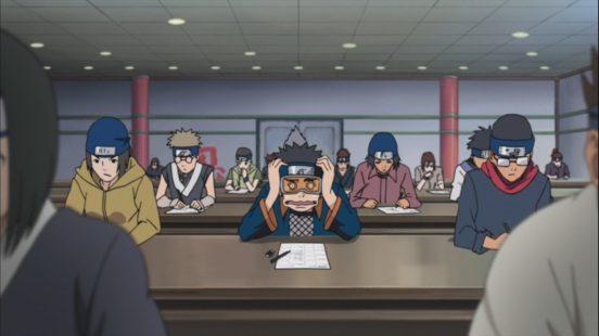 Obito chunnin exam