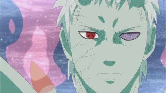 Obito's face