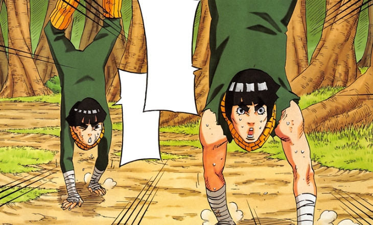 Rock Lee and Spring Time of Youth Student