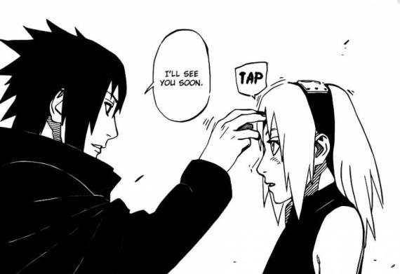 Sasuke and Sakura See You Soon