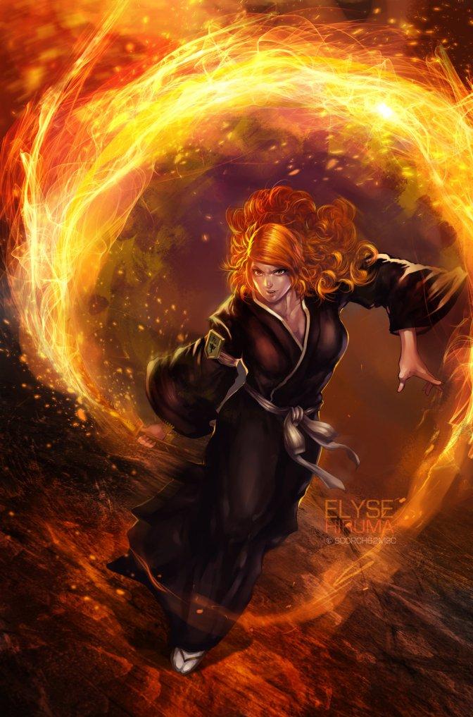 The Burning Rose – Rangiku Matsumoto