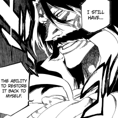 Yhwach restores his abilities